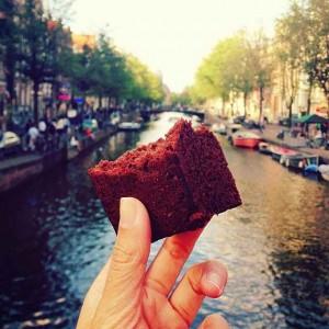 Kue Brownies, Amsterdam, Belanda