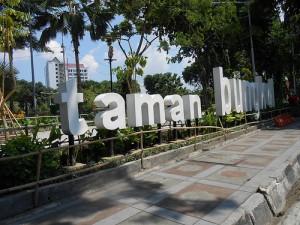 Foto 1 Taman Bungkul Surabaya