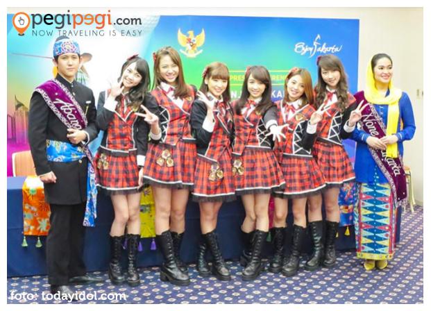 JKT48 Duta Enjoy Jakarta