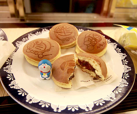 Dorayaki, kue kegemaran Doraemon