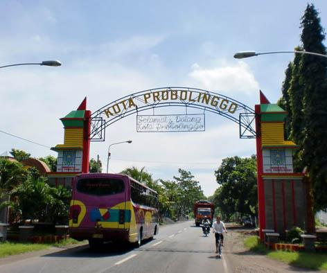 Gerbang kota Probolinggo/mbahsewu.blogspot.com