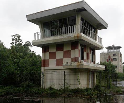 Yang tersisa dari Bandara Kemayoran, menara ATC yang terbengkalai