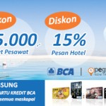 Mau Diskon Tiket Pesawat & Hotel dari BCA dan Pegipegi?