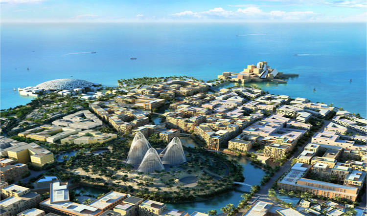 Desain Saadiyat Island Cultural District