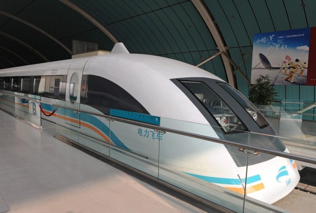 Foto 1 Kereta Tercepat di Dunia