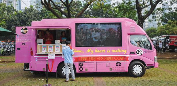 Foto 5 Rekomendasi Food Truck di Jakarta