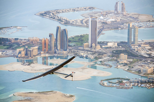 Solar Impulse 2. Foto: AFP