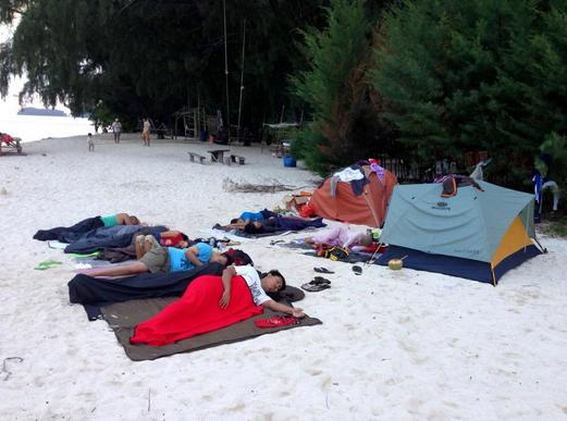 Camping Pulau Perak