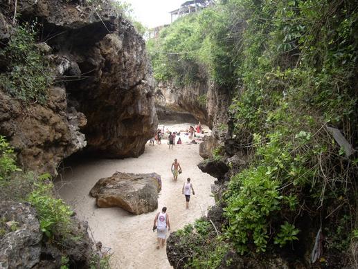 Pantai Suluban Uluwatu