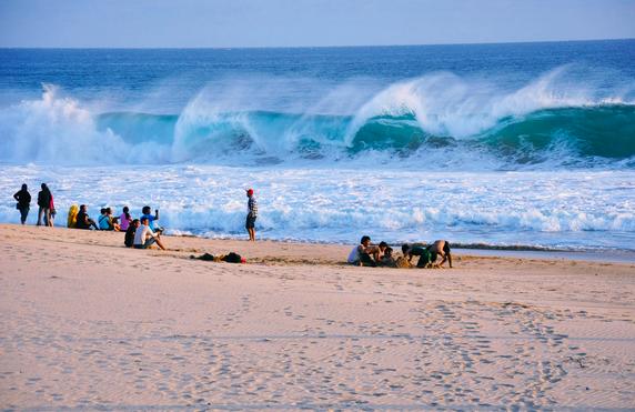 Pantai Ujung Genteng 2