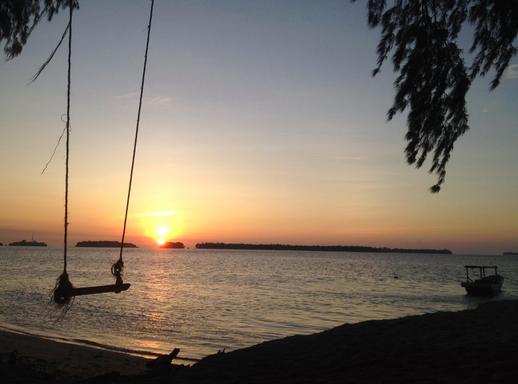 Sunset Pulau Perak