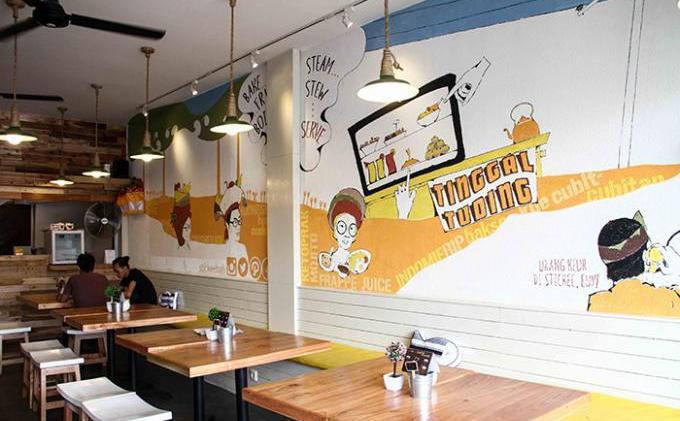 kafe stickee Bali