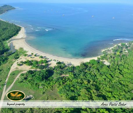 Aerial view Tanjung Lesung. foto: tanjunglesung.com
