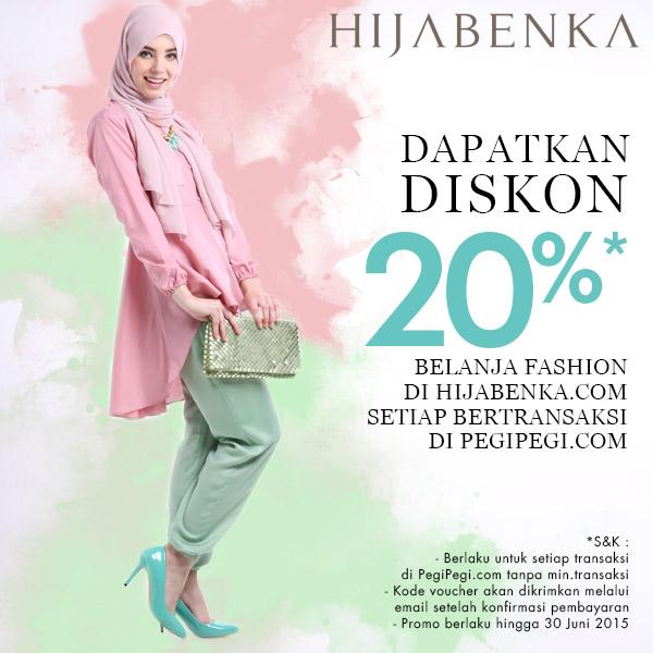 Jilbab diskon murah di hijabenka
