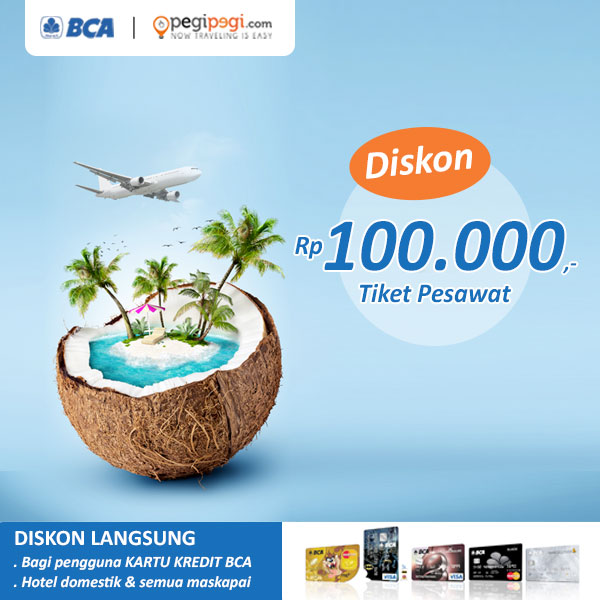 Diskon Tiket Pesawat BCA