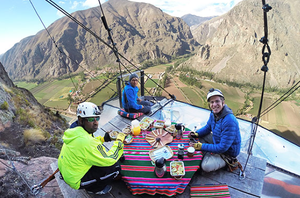 Sacred valley breakfast