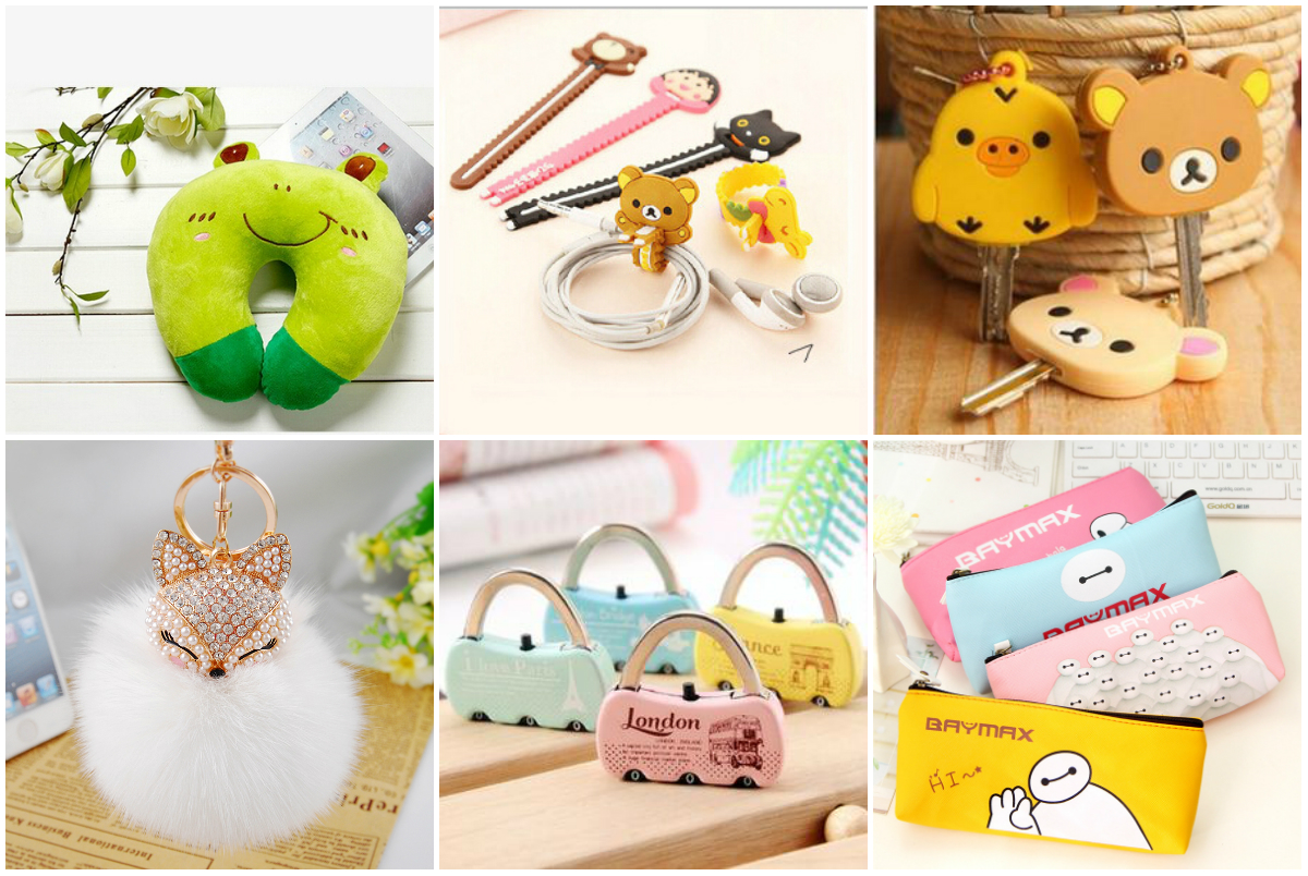 collage barang lucu