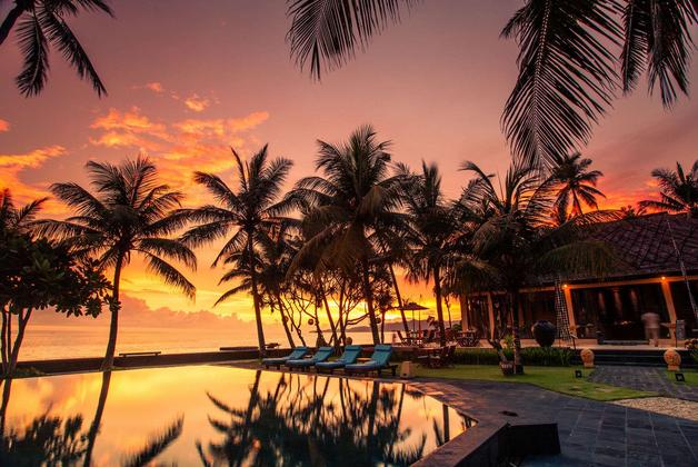 Nirwana Resort Bali Sunset