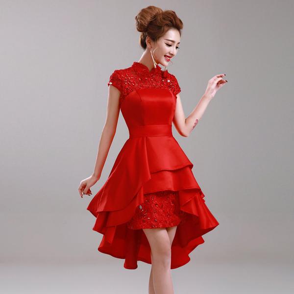 cheongsam-modern-merah-glamour