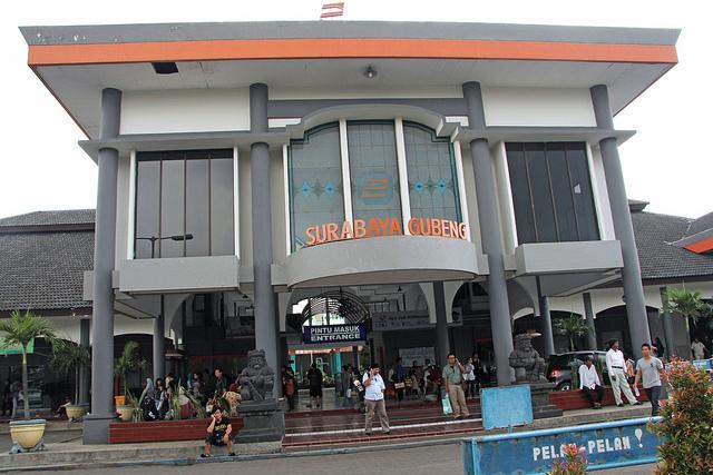 Stasiun Surabaya Gubeng - Surabaya (Java - Indonesia)