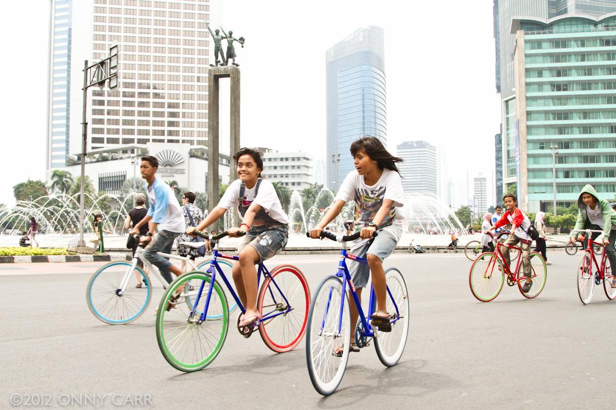 cycling jakarta