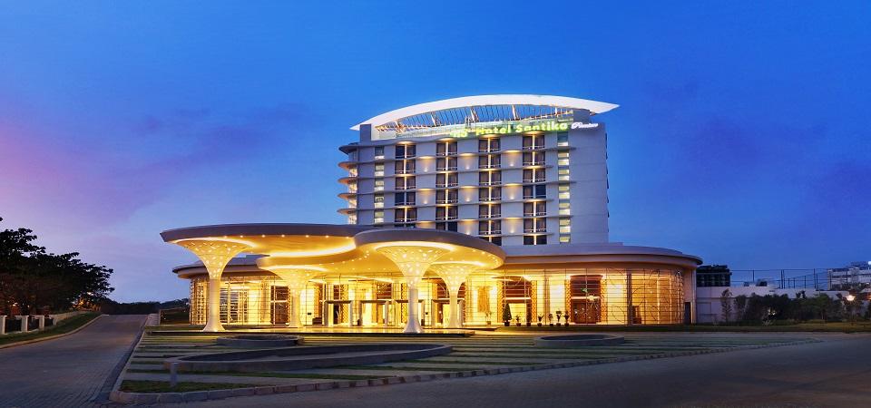hotel santika harapan indah
