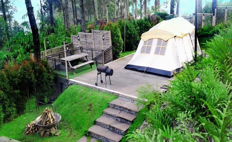 Wisata Dusun Bambu Lembang