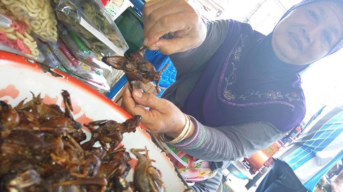Kelelawar Bakar Kuliner Ekstrem Di Pasar Beringharjo