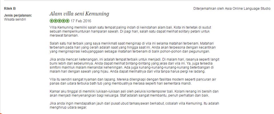 kemuning testi