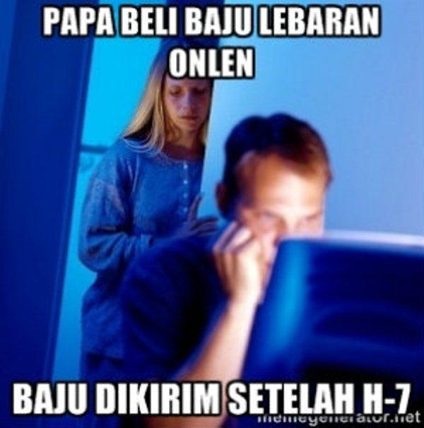 Meme-Beli-Baju-Baru-Lebaran-Online