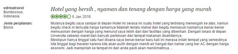 hotel bintang testi