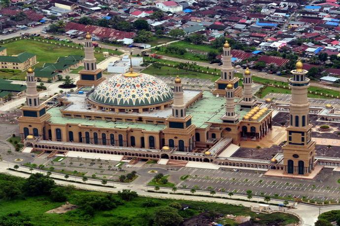 masjid indah di indonesia