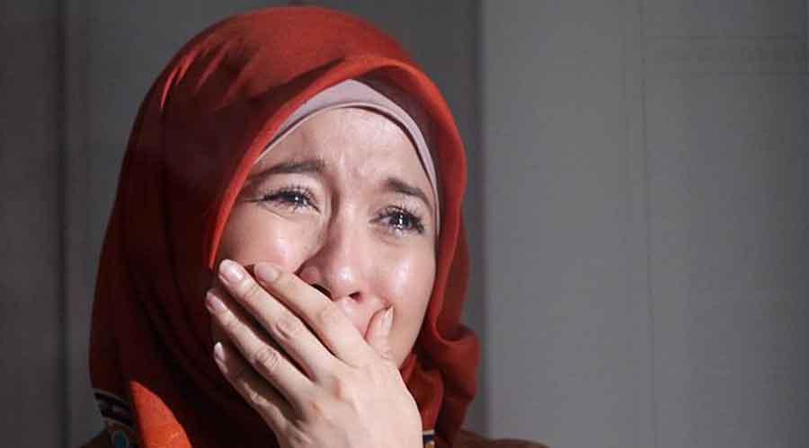 menangis saat puasa