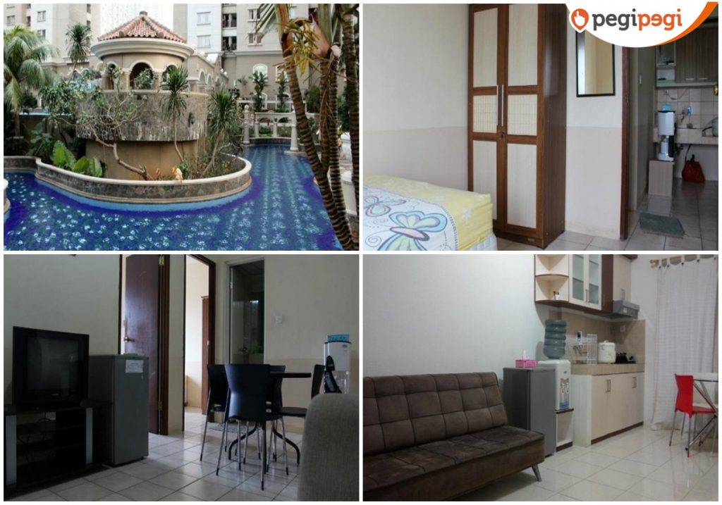 Apartemen Mediterania Garden Residence 1 by Blessing Mansion