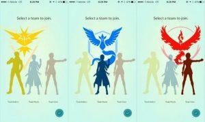 Pemilihan Tim Pokemon Go