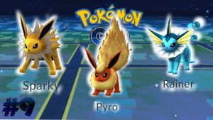 Evolve Eeevee Pokemon Go