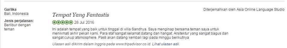 sandhya testi