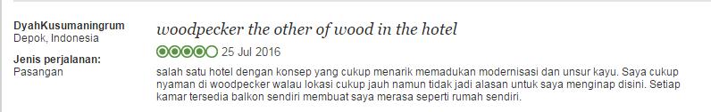 woodpecker testi