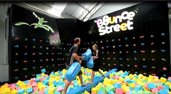 bounce Street Trampoline Park Jakarta