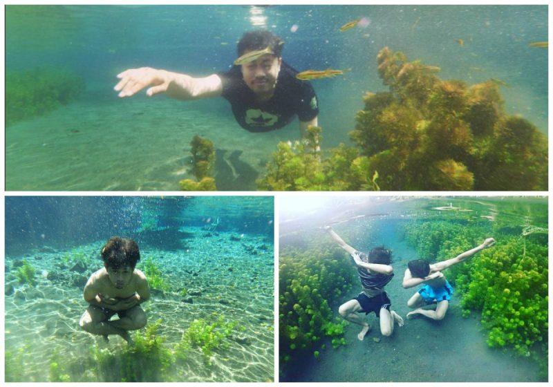 Nikmatnya Berenang di Sumber Sirah