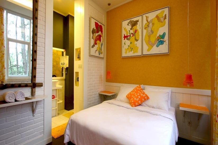 5 hotel murah di bandung dengan kamar tematik mulai dari for Dekor kamar hotel di bandung