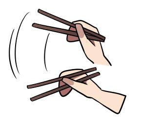 Hindari 10 Gerakan ini Ketika Memakai Sumpit
