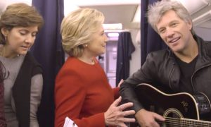 Hillary Clinton, Jon BonJovi mannequin challenge