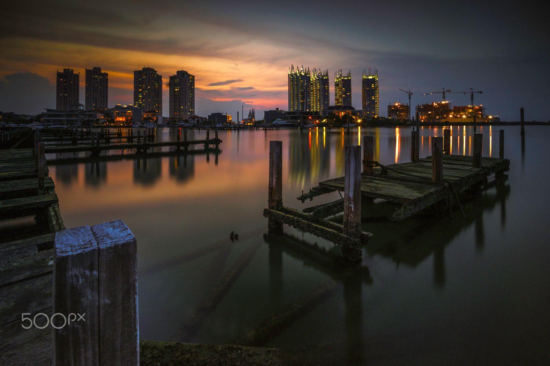 pantai-mutiara-sunset