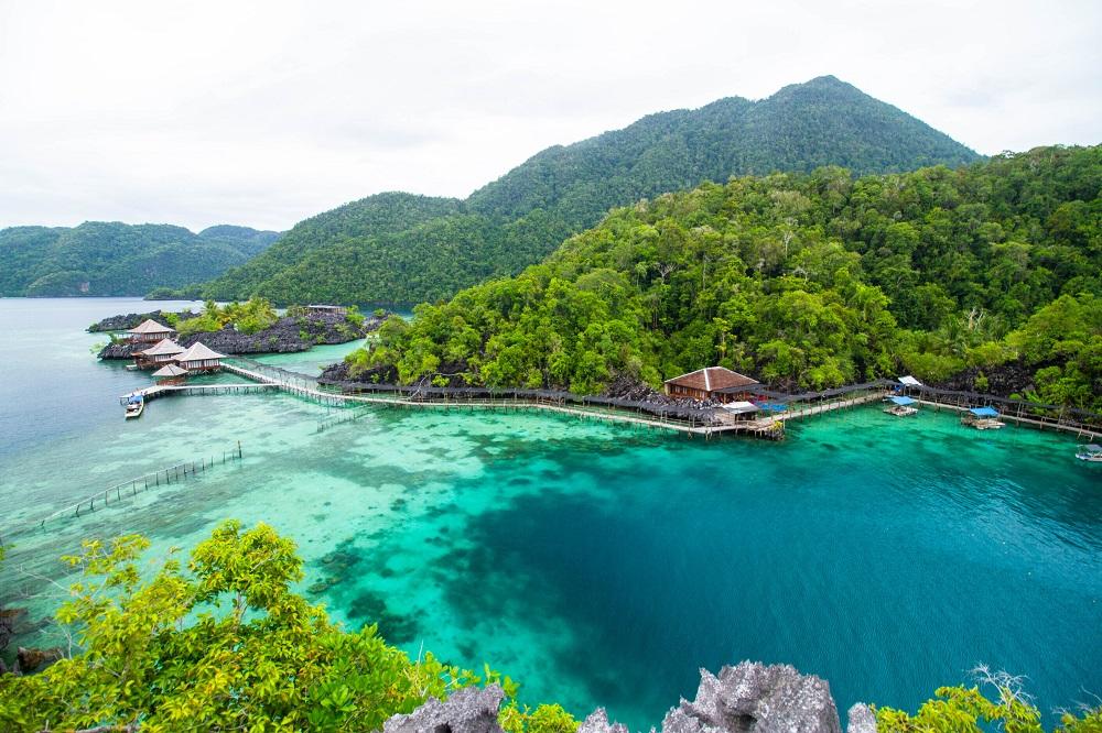 pantai terindah di Indonesia