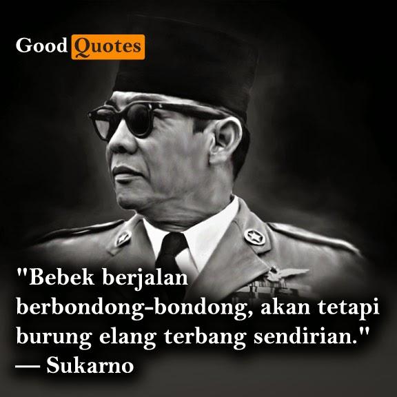 kumpulan quote soekarno yang inspiratif