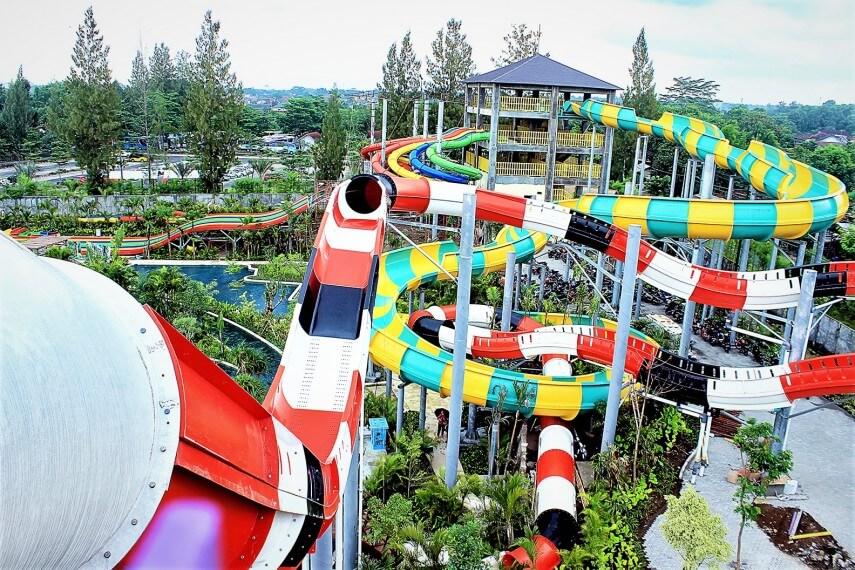 Jogja Bay Pirates Adventure Waterpark Terbesar Di Indonesia