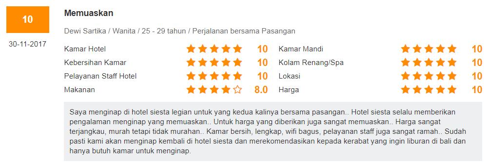 Dengan Harga Mulai Dari Rp 205581 Per Malam Kamu Bisa Menginap Di Hotel Yang Berlokasi Jalan Bunut Sari No 8 Legian Ini Pesannya Pegipegi
