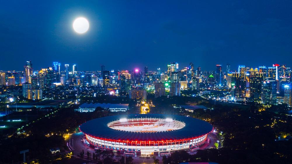 gambar 7 - gelora bung karno gbk stadium jakarta indonesia