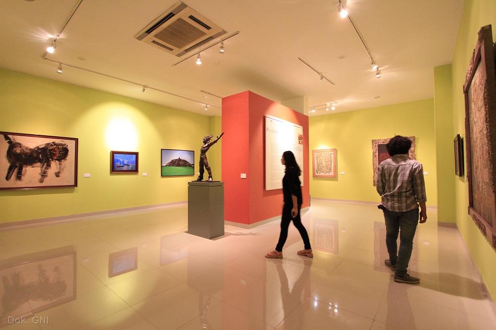Image result for Galeri Nasional Indonesia virtual traveling